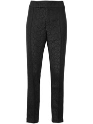 Smythe Cigarrete Trousers Women Polyester 6 Black