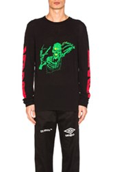 Off White Skull Rock Sweater In Black