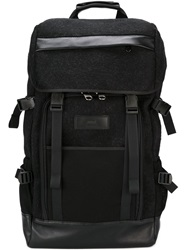 Ami Alexandre Mattiussi Buckle Fastening Backpack Black