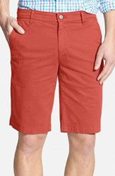 Ag Jeans Men's Ag 'Griffin' Chino Shorts Cape Red