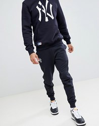 New Era York Yankees Joggers With Large Logo In Navy Navy