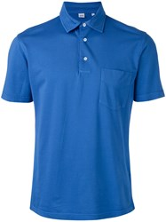 Aspesi Classic Polo Shirt Men Cotton L Blue