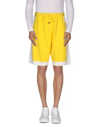 Jupiter Trousers Bermuda Shorts Men Yellow