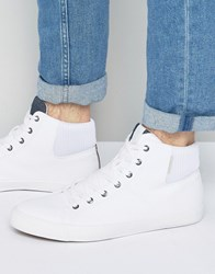 Jack And Jones Dunmore Hi Top Sneakers White