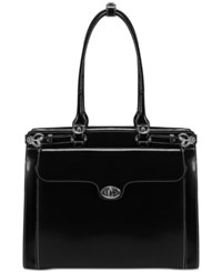 Mcklein Winnetka Briefcase Black