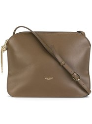 Nina Ricci Flat Crossbody Bag Nude Neutrals