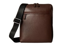 Lodis Borrego Rfid James Small Messenger Dark Brown Messenger Bags