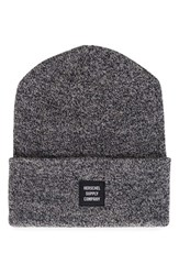 Herschel Women's Supply Co. Abbott Knit Beanie Black Heather Black