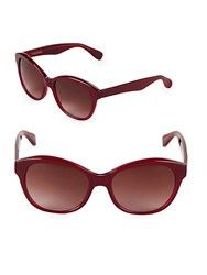 Vera Wang 55Mm Butterfly Sunglasses Red