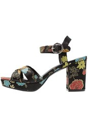 New Look Puzzle 2 High Heeled Sandals Black