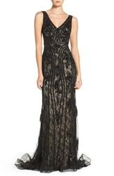 Jovani Women's Sequin Lace Mermaid Gown