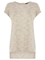 Warehouse Textured Space Dye Top Light Pink