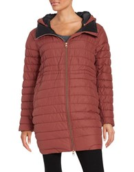 Bench Succinct Zip Front Puffer Coat Sable