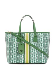Tory Burch Gemini Link Tote Bag Green