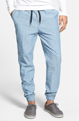 Ezekiel 'Corpus' Denim Jogger Pants Light Indigo