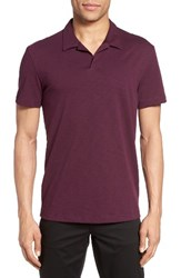 Theory Men's Willem Atmos Polo Deep Chinon