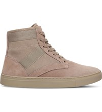 Kg By Kurt Geiger Apicella High Top Trainers Beige