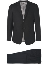 Thom Browne Plain Formal Suit Black