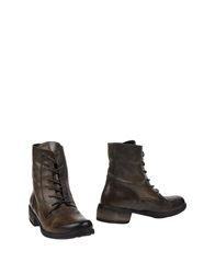 Oto Ankle Boots Dark Brown
