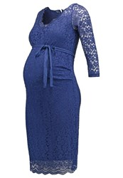 Mama Licious Mlsuzanne Cocktail Dress Party Dress Twilight Blue