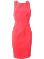 Roberto Capucci Bow Detail Dress Pink And Purple