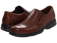 Dunham Blair Twin Gore Slip On Brown Smooth Men's Flat Shoes