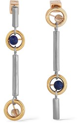 Uribe Gae Gold And Rhodium Plated Silver