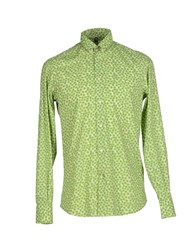 Dondup Shirts Shirts Men Light Green