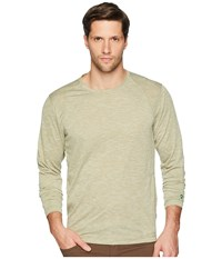White Sierra Bug Free Base Camp Long Sleeve Tee Loden Green Long Sleeve Pullover