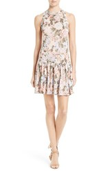 Rebecca Taylor Women's Penelope Floral A Line Dress
