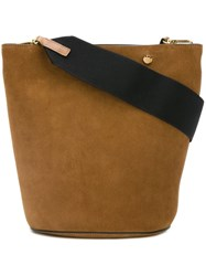 Marni Bucket Tote Brown