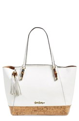 Lilly Pulitzer 'Bambusa' Tote White Resort White