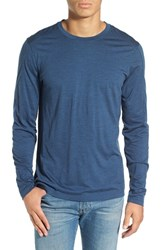 Ibex Men's 'Od' Merino Wool Long Sleeve Crewneck T Shirt