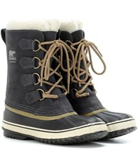 Sorel 1964 Pac 2 Waterproof Leather And Rubber Boots Blue