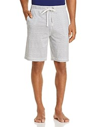 Daniel Buchler Feeder Stripe Pima Modal Blend Lounge Shorts Blue