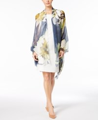 Vince Camuto Upscale Flower Wrap Limelight