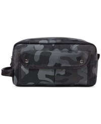 Polo Ralph Lauren Men's Camo Print Shaving Kit Green
