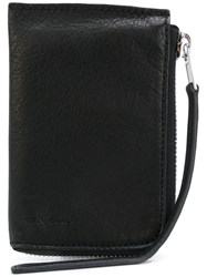 Rick Owens Coin Purse Men Calf Leather One Size Black