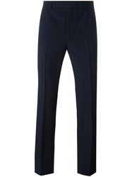 Raf Simons Flared Classic Trousers Blue