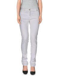 Roberto Cavalli Trousers Casual Trousers Women White