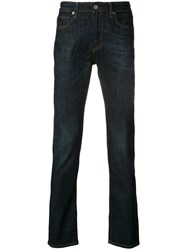 Levi's Made And Crafted Regular Fit Jeans Men Cotton Spandex Elastane Viscose 36 32 Blue