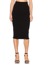 Otis And Maclain Mid Calf Skirt Black