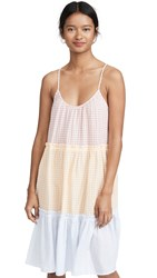 Madewell Tiered Sleep Dress Bessy Gingham Sweet Dahlia