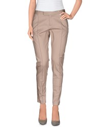 Pf Paola Frani Trousers Casual Trousers Women Dark Blue