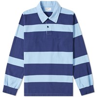 Universal Works Rugby Shirt Blue