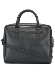 Dolce And Gabbana 'Mediterraneo' Laptop Bag Black