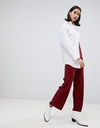 Selected Lecia Plisse Trousers Red