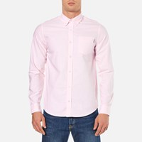 Carhartt Men's Long Sleeve Oxford Shirt Vegas Pink