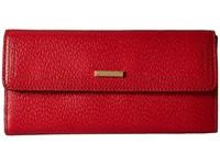 Lodis Stephanie Rfid Under Lock Key Checkbook Clutch Red Checkbook Wallet