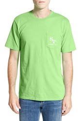 Men's Southern Tide 'Weathered Skipjack' Graphic T Shirt Summer Green